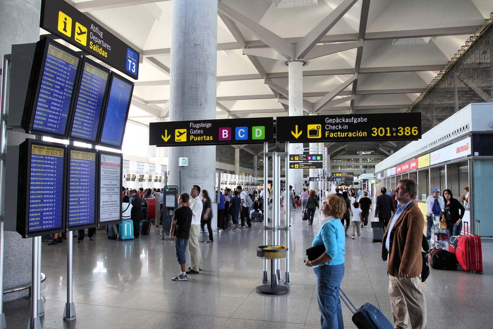 Airport transfer for Malaga Airport and Gibraltar Airport